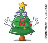 geek christmas tree character... | Shutterstock .eps vector #770810530