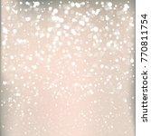 christmas background. sparkling ...   Shutterstock .eps vector #770811754