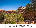 rocks and rocks of the weather...   Shutterstock . vector #770813914