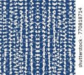 tie dye triangle geometric... | Shutterstock .eps vector #770818714