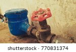 water tap connected meter for... | Shutterstock . vector #770831374