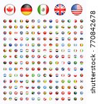 around of the world all rounded ... | Shutterstock .eps vector #770842678