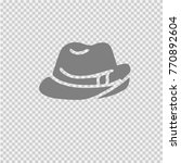cowboy hat vector icon eps 10.... | Shutterstock .eps vector #770892604
