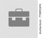 business briefcase vector icon... | Shutterstock .eps vector #770892694