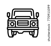 transport   land rover  | Shutterstock .eps vector #770911099