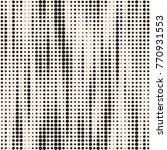 modern stylish halftone texture.... | Shutterstock .eps vector #770931553