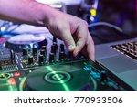 dj remote control | Shutterstock . vector #770933506