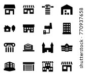 origami style icon set   store... | Shutterstock .eps vector #770937658