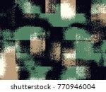 abstract grunge vector... | Shutterstock .eps vector #770946004