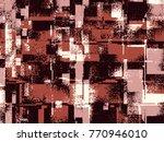 abstract grunge vector... | Shutterstock .eps vector #770946010