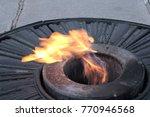 eternal flame symbolizing... | Shutterstock . vector #770946568