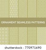 arabic geometric seamless... | Shutterstock .eps vector #770971690