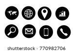 web icons set | Shutterstock .eps vector #770982706