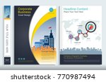 cover book design template with ...   Shutterstock .eps vector #770987494