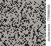 irregular tangled shapes.... | Shutterstock .eps vector #770988430