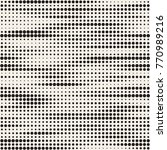 modern stylish halftone texture.... | Shutterstock .eps vector #770989216