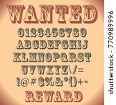 special font in vector | Shutterstock .eps vector #770989996
