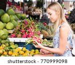 young beautiful woman with...   Shutterstock . vector #770999098