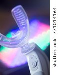 Small photo of Dental bracket aligner accelerator vibrator for orthodontic straighteners, brackets and aligners.