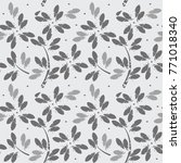stylish seamless pattern with... | Shutterstock .eps vector #771018340