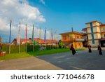 pokhara  nepal   october 06... | Shutterstock . vector #771046678