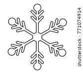 merry christmas object   Shutterstock .eps vector #771074914