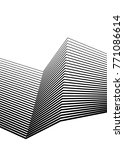 white black color. linear... | Shutterstock .eps vector #771086614