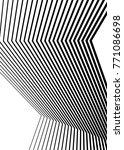 white black color. linear... | Shutterstock .eps vector #771086698