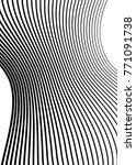 white black color. linear... | Shutterstock .eps vector #771091738