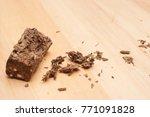 Dry Cannabis Or Marijuana Bud...