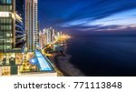 cartagena de indias skyline at...   Shutterstock . vector #771113848