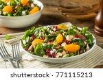 Raw Organic Winter Chard Salad...