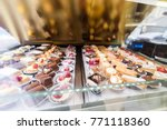 lots of colorful and tasteful... | Shutterstock . vector #771118360