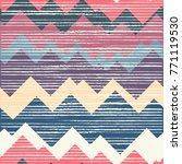 multicolor hand drawn pattern... | Shutterstock .eps vector #771119530