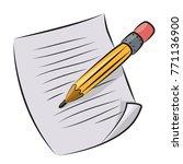 cartoon image of edit icon....