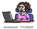 cartoon image of technical...