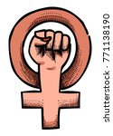 cartoon image of feminism...