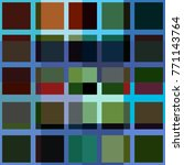 vector texture of squares | Shutterstock .eps vector #771143764