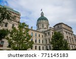 state house tour office in... | Shutterstock . vector #771145183