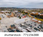 downtown york  pennsylvania off ... | Shutterstock . vector #771156388
