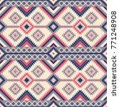 native pattern vector | Shutterstock .eps vector #771248908