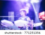 blurred for background. artist...   Shutterstock . vector #771251356