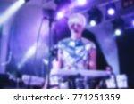 blurred for background. artist... | Shutterstock . vector #771251359