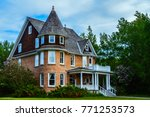 Cronquist House in Bower Ponds Park in Red Deer, Alberta, Canada