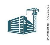 construction icon design vector | Shutterstock .eps vector #771266713