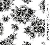 abstract elegance seamless... | Shutterstock . vector #771267910
