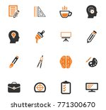creative process vector icons... | Shutterstock .eps vector #771300670