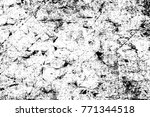 grunge black and white pattern. ... | Shutterstock . vector #771344518