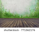 background  stage and stage... | Shutterstock . vector #771362176