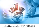 internet world concept. 3d... | Shutterstock . vector #771384649